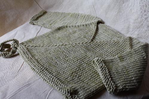 tuto tricot kimono bebe