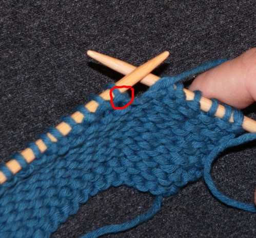 tuto tricot maille envers