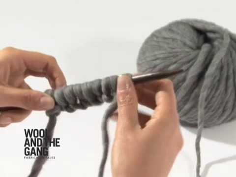 tuto tricot monter mailles