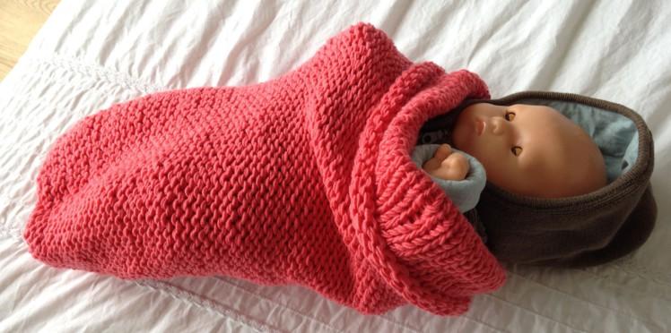 tuto tricot nid d'ange facile