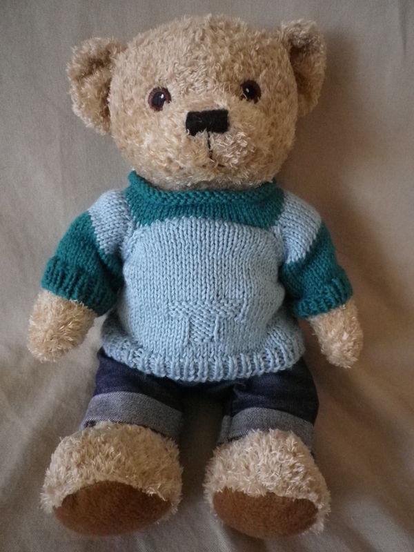 tuto tricot ourson