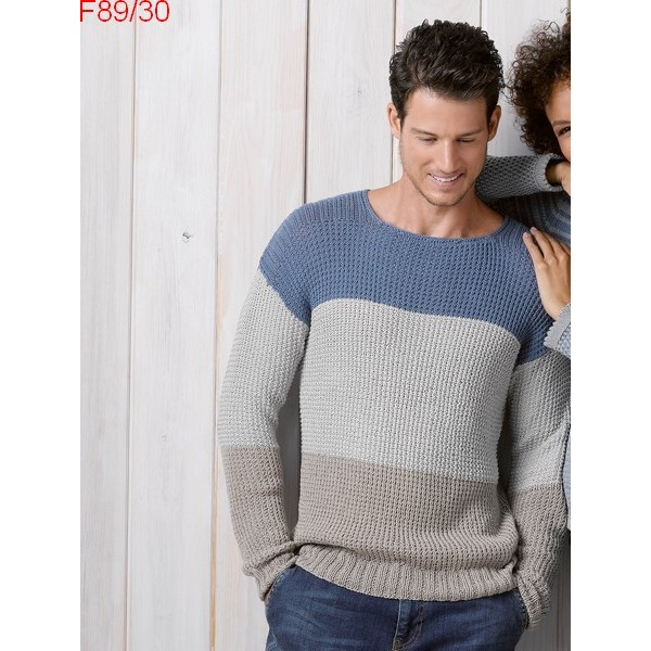 tuto tricot pull homme