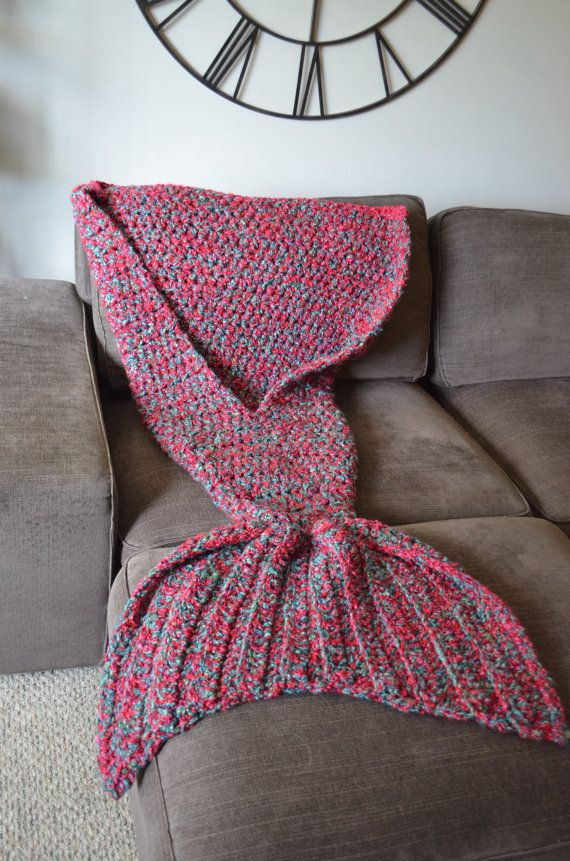 tuto tricot queue de sirene