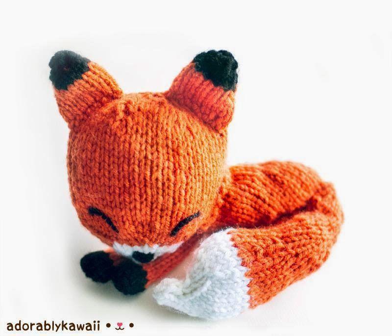 tuto tricot renard