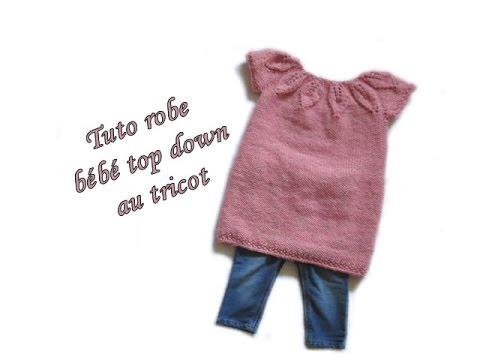 tuto tricot robe 9 mois