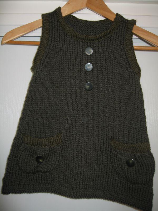 tuto tricot robe fille 8 ans - Tutoriel couture et tricot