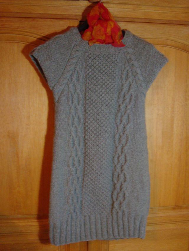 tuto tricot robe pull