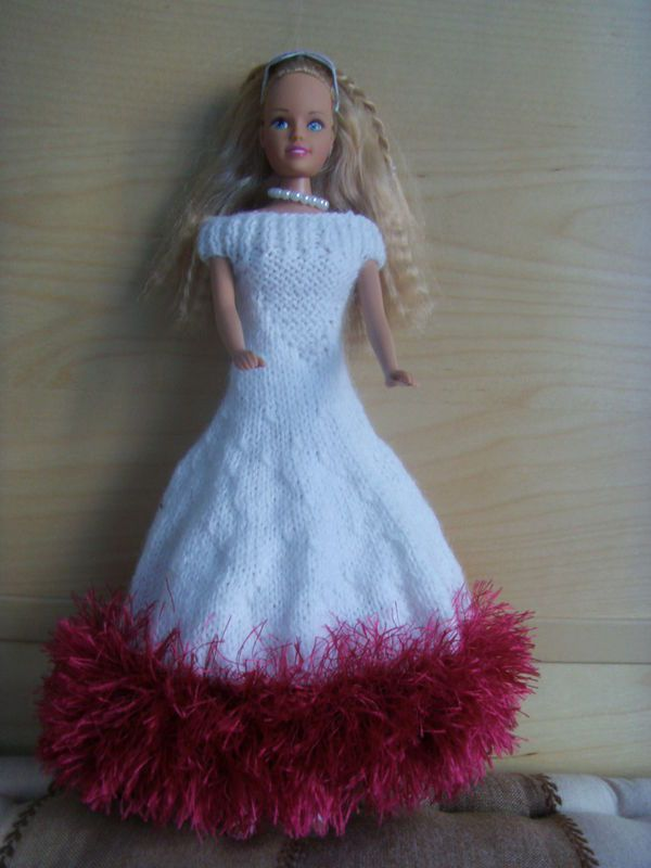 tuto tricot vetement barbie