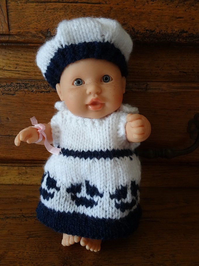 tuto tricot vetement poupon