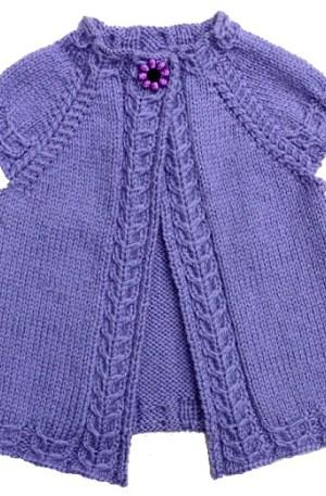 tuto tricot zig zag
